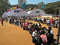 Queue for exhibitions at Techfest IIT Bombay, Mumbai, India.JPG