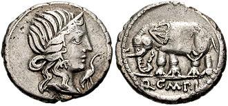 Pietas - Image: Quintus Caecilius Metellus Pius