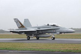No. 2 Operational Conversion Unit RAAF - No. 2 OCU F/A-18B Hornet, 2011