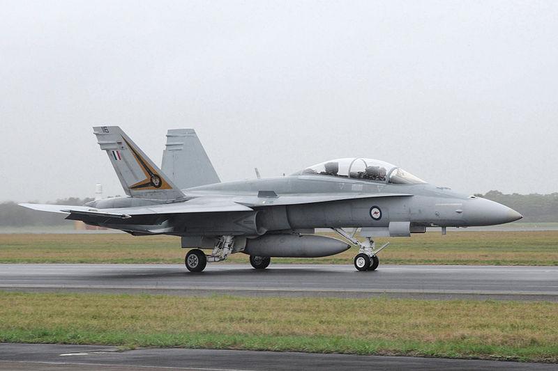 File:RAAF FA-18B 2011.jpg