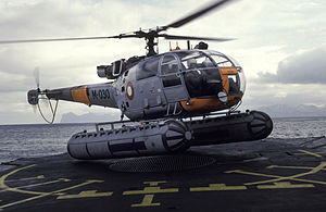 Royal Danish Navy - Alouette III helicopters operated on Arctic Patrol Vessels (1962–1982)