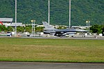 ROCAF F-16B 6826 Taking off from Hualien Air Force Base 20170923a.jpg