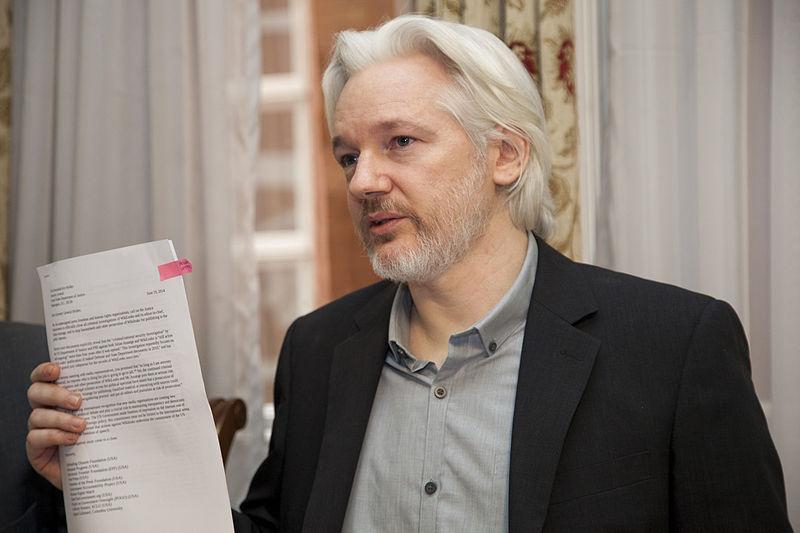 Джулиан Ассанж арестован сегодня в Лондоне британской полицией