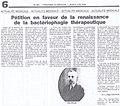 Raïga Clémenceau - Pétition en faveur de la renaissance de la bactériophagie thérapeutique.jpg