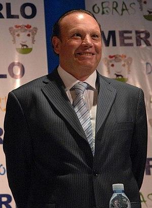 Merlo Partido - Raúl Othacehé, mayor of Merlo since 1991.