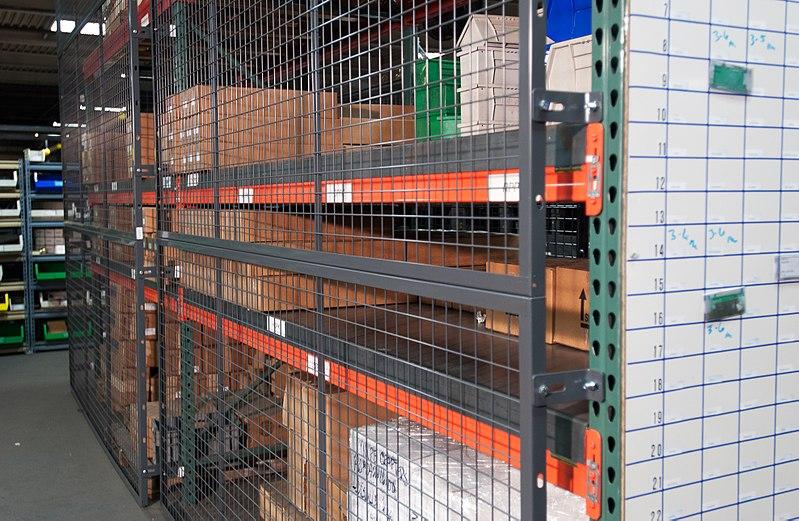 File:RackBack Pallet Rack Steel Mesh Containment Panels.jpg