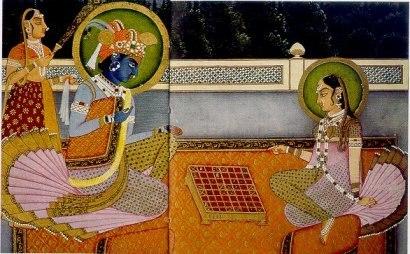 Radha-Krishna chess