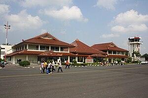 Radin Inten II International Airport - The former terminal