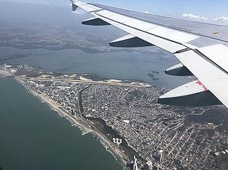 Rafael Núñez International Airport - Rafael Núñez International Airport in 2019.