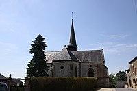 Raillicourt (08 Ardennes) - Église Saint-Martin - Photo Francis Neuvens lesardennesvuesdusol.fotoloft.fr jpg.JPG