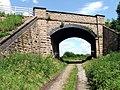 Railway bridge over byway - geograph.org.uk - 487715.jpg