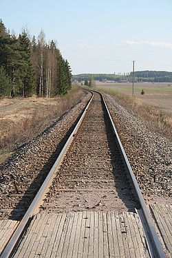 Railway from Lahti to Loviisa in Finland.jpg