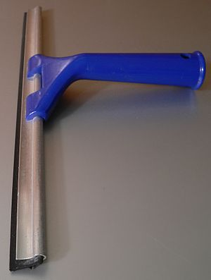 Squeegee - A window squeegee