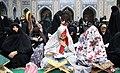 Ramadan 1439 AH, Qur'an reading at Goharshad Mosque, Mashhad - 29 May 2018 22.jpg