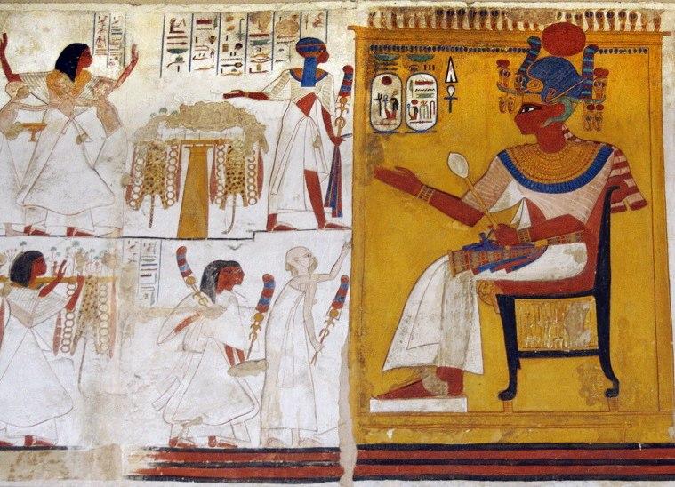 Ramses II audience