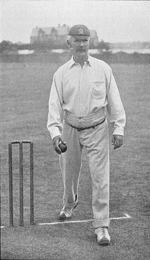 Walter Humphreys senior - Image: Ranji 1897 page 098 Walter Humphreys' lob bowling