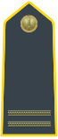 Rank insignia of maresciallo ordinario of the Guardia di Finanza.svg