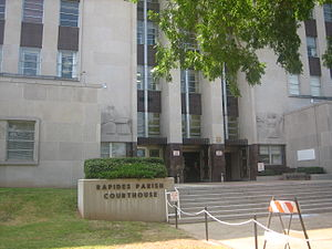 Rapides Parish Courthouse (lower view) IMG 1142.JPG
