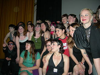 Rat City Roller Derby - Members of Rat City attending the premiere of Blood on the Flat Track at the 2007 Seattle International Film Festival