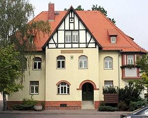 Böhlen - Image: Rathaus Boehlen