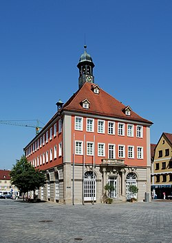The Town Hall of Schorndorf on the Marktplatz