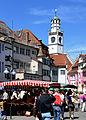 Ravensburg Wochenmarkt 2011-07-16 Gespinstmarkt 1.jpg