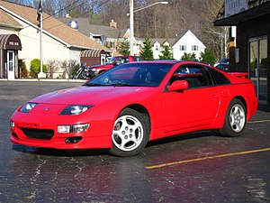 Nissan 300ZX - Image: Red Z32