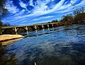 Reflection of the sky on the Juniata River.jpg