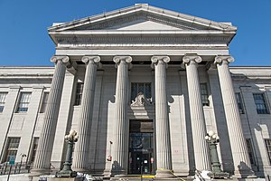 Federal Street District - Image: Registry of Deeds and Probate Court