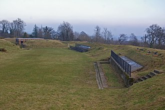 London Defence Positions - A view of Reigate Fort