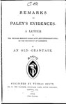 Remarks on Paley's evidences.pdf