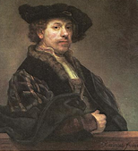 Self-portrait at the age of 34, 1640, National Gallery, London