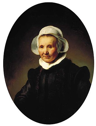 Portrait of a 62-year-old Woman, possibly Aeltje Pietersdr Uylenburgh - Image: Rembrandt Portrait of a 62 year old Woman