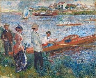 Aline Charigot - Image: Renoir Oarsmen at Chatou 1879