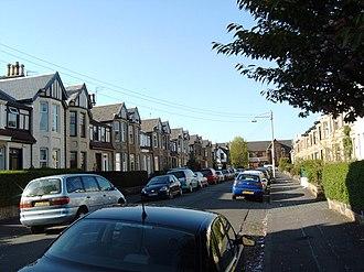 Jordanhill - Image: Residential Street in Jordanhill geograph.org.uk 421171