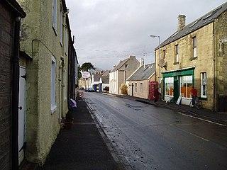 Reston, Scottish Borders village in United Kingdom