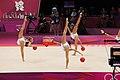 Rhythmic gymnastics at the 2012 Summer Olympics (7915572220).jpg