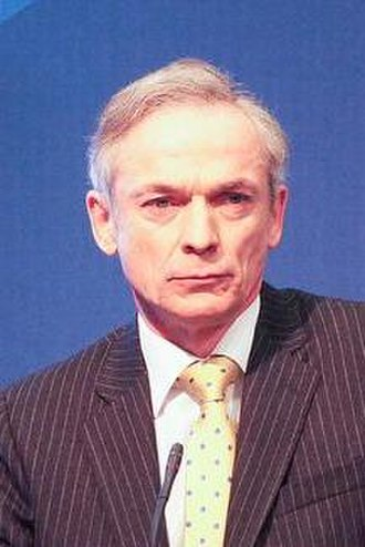 Fine Gael leadership election, 2002 - Image: Richard Bruton 2011 (cropped)