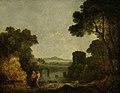 Richard Wilson (1713-1714-1782) - Italian River Landscape with a Broken Bridge - PD.2-1948 - Fitzwilliam Museum.jpg