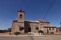 Rielves, Iglesia parroquial de Santiago Apóstol, fachada principal.jpg