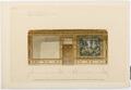 Ritning Stora salongens långvägg, Hallwylska palatset - Hallwylska museet - 101137.tif
