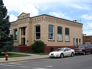 National Register of Historic Places listings in Adams County, Washington - Image: Ritzville, WA Carnegie Library