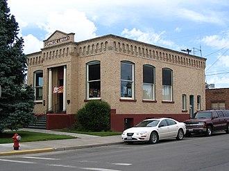 Ritzville, Washington - Image: Ritzville, WA Carnegie Library