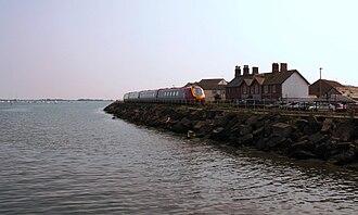 Riviera Line - A Voyager train near Starcross