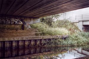 River Nar - The River Nar under the A47 at King's Lynn, a short distance from where it joins the Ouse