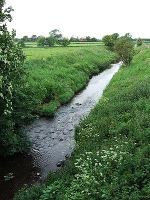 River Tawd - River Tawd in Lathom.