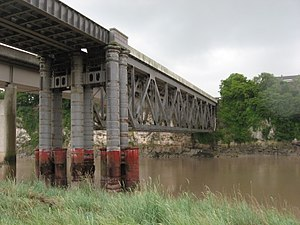 Chepstow Railway Bridge - Present day Chepstow Railway Bridge