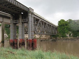 Chepstow Railway Bridge - Present day Chepstow Railway Bridge