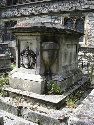 Robert Lowth - Funerary monument, All Saints, Fulham, London