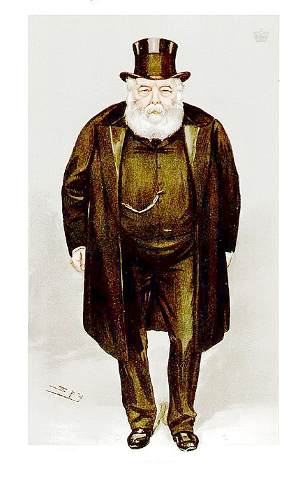 Salisbury caricatured by Spy for Vanity Fair, 1900 Robert Arthur Talbot Gascoyne-Cecil, Vanity Fair, 1900-12-20.jpg